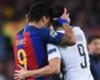 Barcelona PSG Cavani Suarez