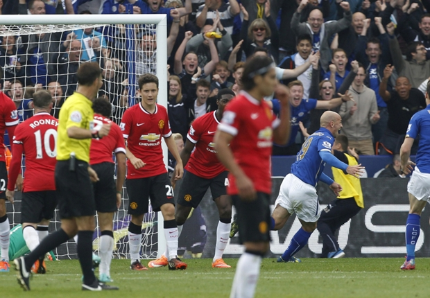 Leicester City-Manchester United (5-3), Man United sombre à Leicester
