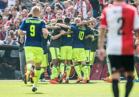 Résumé de match, Feyenoord-Ajax (0-1)