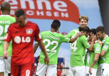 Wolfsburg schlägt Bayer deutlich