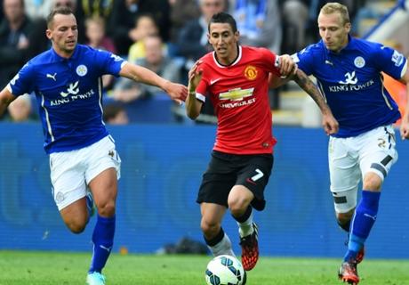 Inglês: Leicester 5 x 3 Man. United