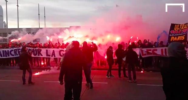 Les supporters parisiens déjà très chauds avant PSG-Real