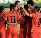 Goals galore as Barca thump Levante