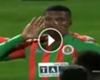 VIDEO: ¡Tres al hilo! Junior Fernándes se lució ante Fenerbahçe