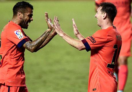 Noten: Messi führt Barca an die Spitze
