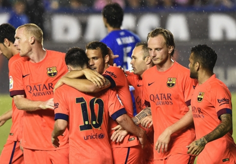 Match Report: Levante 0-5 Barcelona