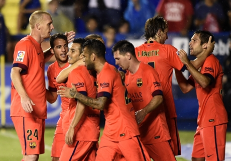 برشلونة يرد على ثمانية الريال بخماسية