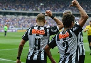 Mais uma vitória em clássico, 3 a 2 no Mineirão, com direito a provocação de Diego Tardelli e Marcos Rocha relembrando a maior goleada do confronto com o Cruzeiro
