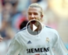 ► El primer gol de Beckham en LaLiga