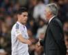 James: Ancelotti le da la razón a Zidane