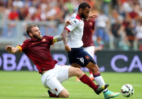 De Rossi set to miss City, Juventus