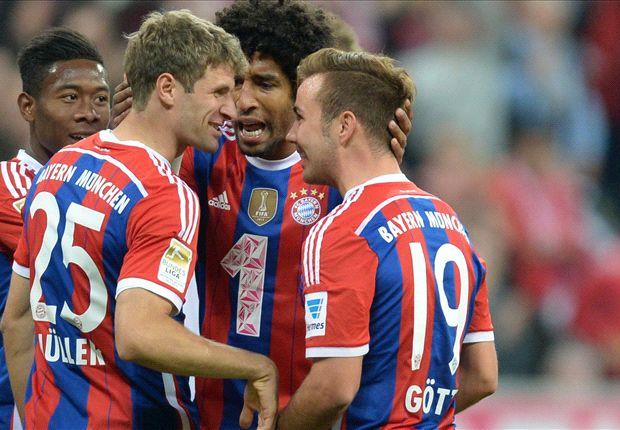 Endlich wieder Spitzenreiter: Bayern München