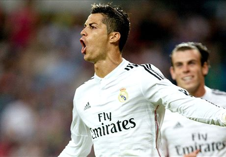 Ronaldo helps Madrid hit 18 in a week