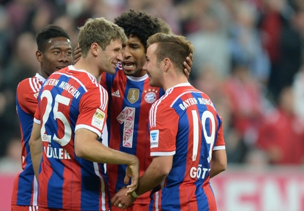 Bayern Munich 4-0 Paderborn: Gotze at the double for brilliant Bavarians