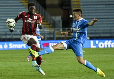 Empoli 2-2 Milan: Point salvaged
