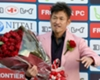VIDEO: Record-breaking Miura becomes world's oldest scorer at 50
