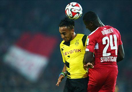 Player Ratings: Dortmund 2-2 Stuttgart