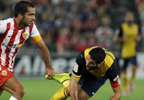 Player Ratings: Almeria 0-1 Atletico