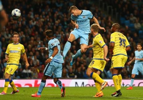 Résumé de match, Manchester City-Sheffield Wednesday (7-0)