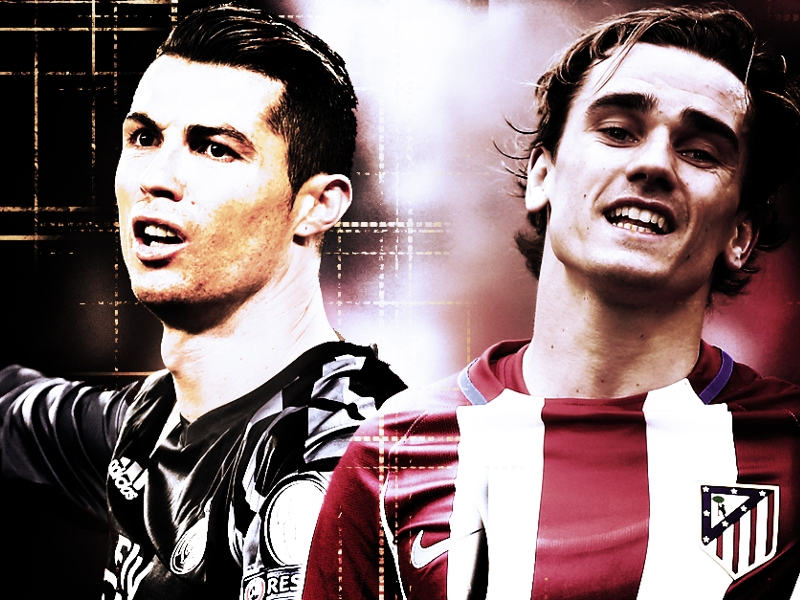 Ronaldo vs Griezmann - who has the edge ahead of the Madrid derby?