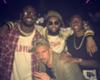 Fußballstars feiern auf Drake-Konzert