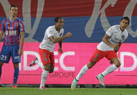 Report: Caen 0-2 Paris Saint-Germain