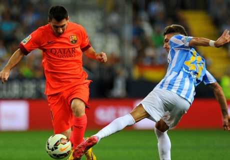 'Credit to Malaga for stopping Messi'