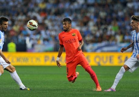 Malaga 0-0 Barca: Perfect start ends