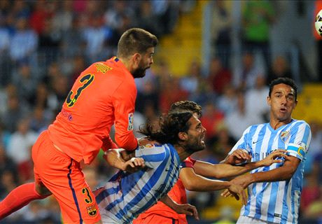 Player Ratings: Malaga 0-0 Barcelona