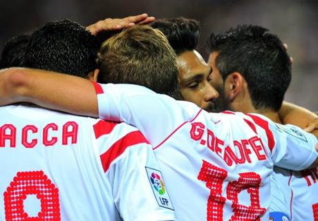 Copa del Rey: Sabadell 1-6 Sevilla