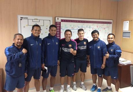Pelatih Barcelona B Tertarik Dengan Tiga Pemain Timnas Indonesia U-19 Ini