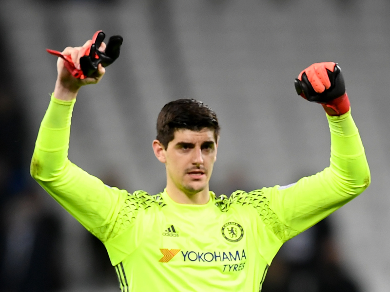 VIDEO: Chelsea keeper Courtois' wild celebration after scoring a goal
