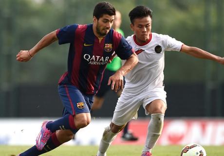 Duel Barcelona B Kontra Indonesia U-19 Banyak Ditonton