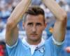 I'm staying at Lazio - Klose