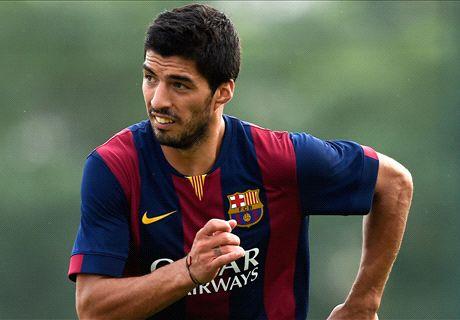 TT: Suarez to start El Clasico