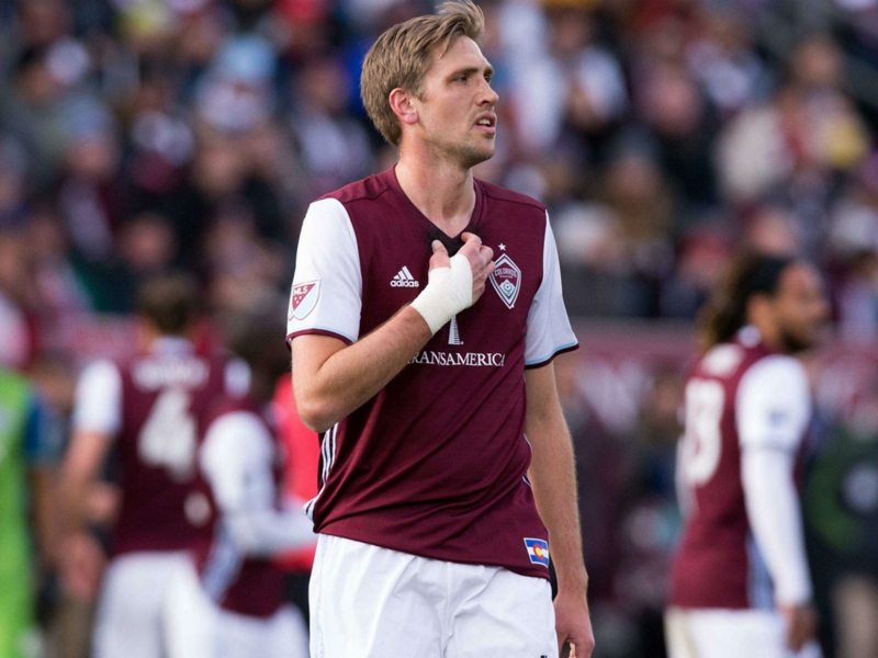 Rapids defender Axel Sjoberg out at least 6-8 weeks after surgery