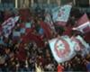 Trabzonspor fans Kazim Koyuncu flag
