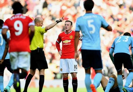 Van Gaal: Rooney red was unfriendly