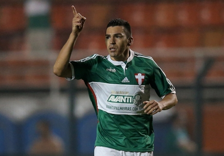 Lúcio se despede do Palmeiras