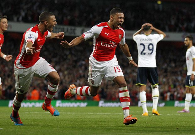 Arsenal 1-1 Tottenham: Oxlade-Chamberlain rescues derby point for Gunners