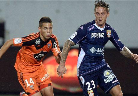 Résumé du match, Lorient-Evian TG (0-2)