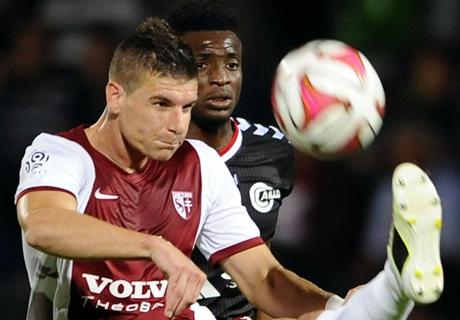 Résumé de match, Metz-Reims (3-0)
