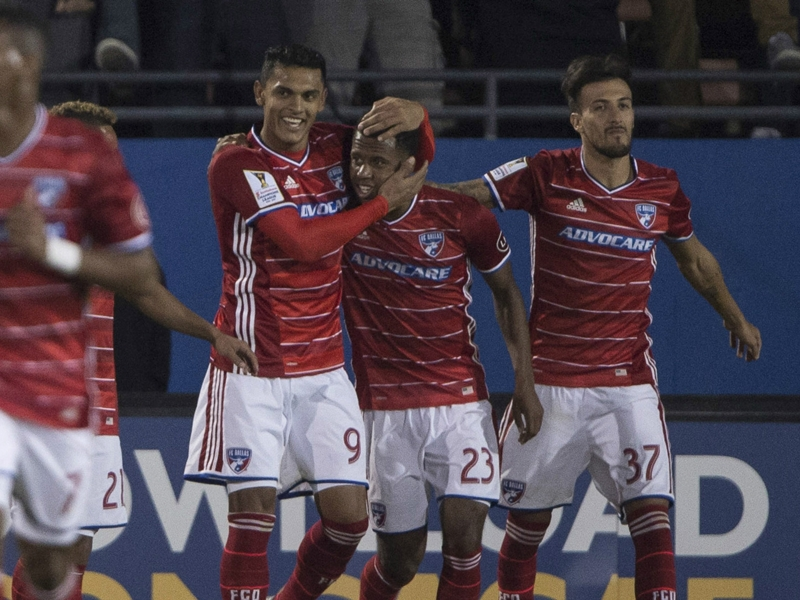 Kellyn Acosta exemplifies FC Dallas' fight in CCL win over Pachuca