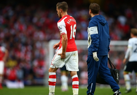 Ramsey out of Chelsea clash