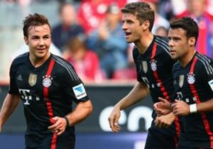 Bayern Munich - Seis victorias, tres empates.