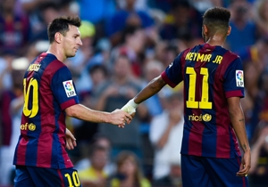 Betting Special: Back Lionel Messi at 10/1 to score first or Neymar at 14/1