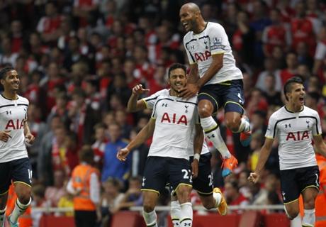 Chadli revels in derby goal