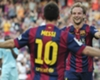 Rakitic: Ronaldo es bueno, Messi único