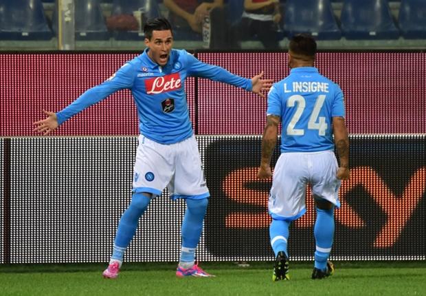 Napoli 2-1 Torino: Callejon completes Partenopei comeback