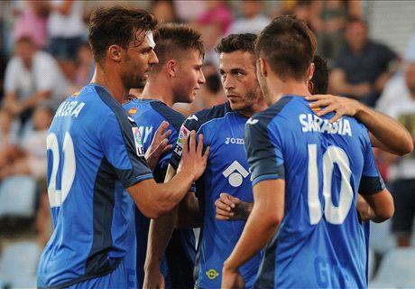 Liga BBVA: Real Sociedad 1-2 Getafe